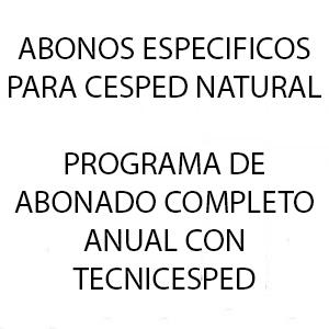 cesped natural fertilizantes