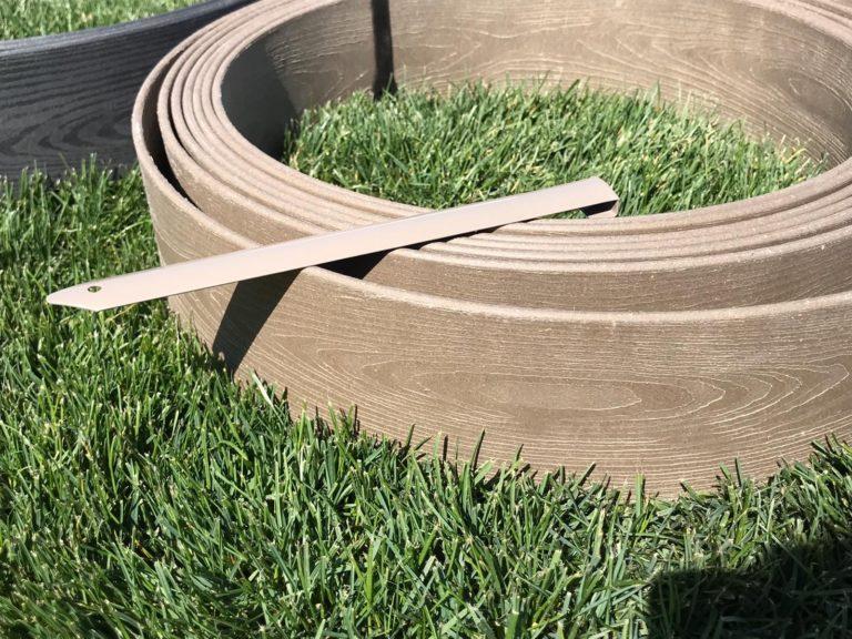Bordura madera tecnica marron